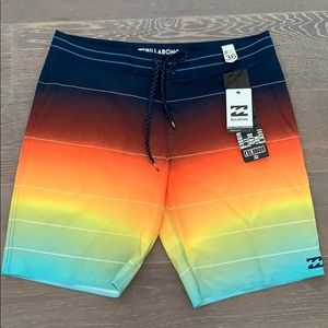 Men's billabong board-short new with tags